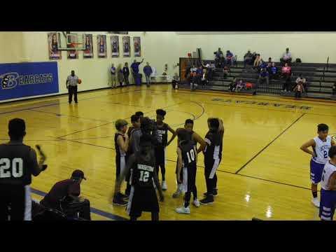 Waskom vs Beckville 7th grade boys basketball 2nd half only @Beckville 2/8/18 (1)