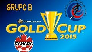 Canada vs Costa Rica | simulacion | Grupo B | Copa Oro 2015