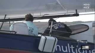 La flotte de la Krys Ocean Race au complet à Brest