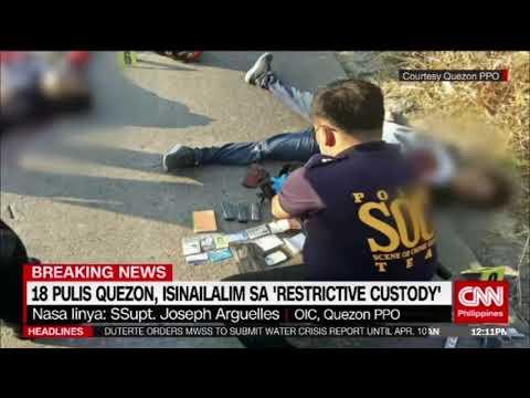 (Breaking News) Quezon PPO: Posibleng ini-stage ng mga pulis ang 'shootout'
