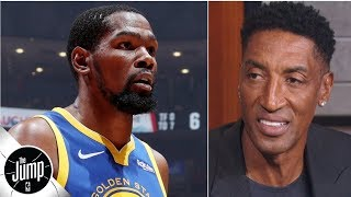 Kevin Durant should be the Warriors' top priority in the offseason - Scottie Pippen | The Jump