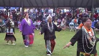 Swan Dance at Honor The Earth Pow wow at Lac Courte Oreilles 2009