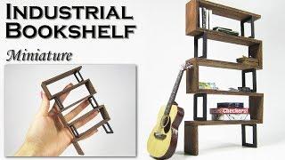 Miniature Industrial Modern Bookshelf