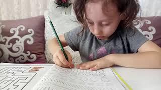 #Dersçalışmagünlüğüm#4 - İlkokul 1. sınıf - Çizgi ve Boya Çalışması Yapıyorum.