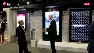 [ISE2015] LG Booth_Retail Commercial Display