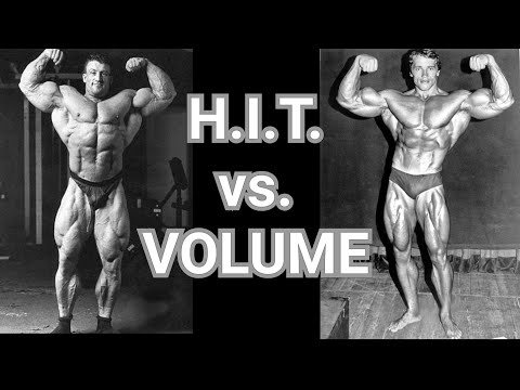 High Intensity Training (HIT) vs. High Volume: Which One Builds the MOST Muscle?