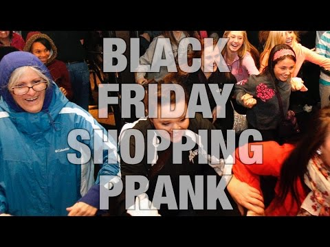 BLACK FRIDAY SHOPPING PRANK 2015! with Jacksfilms