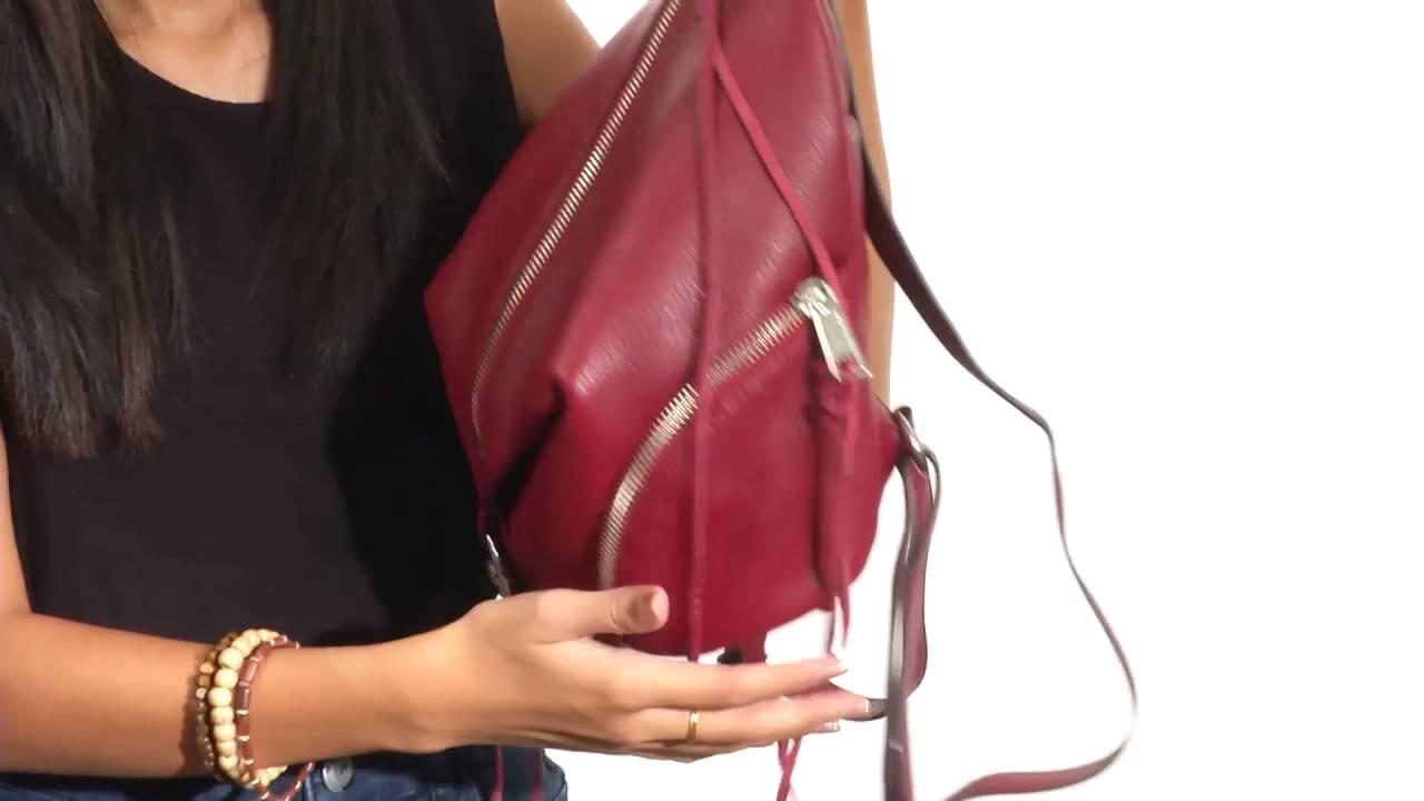 59e2ce5bd6 Rebecca Minkoff Medium Julian Backpack SKU 8763997 - YouTube