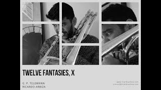 Twelve Fantasies, X, G.P.Telemann