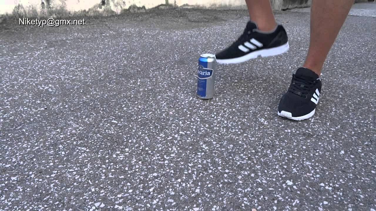huge discount 5fe36 4195f adidas ZX Flux  stomping italian cans - YouTube