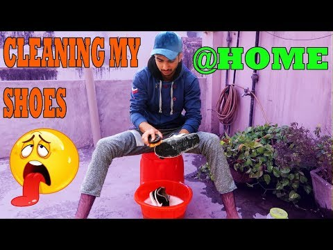 HOW TO CLEAN YOUR SHOES AT HOME (EASY STEPS) | #Vlog10