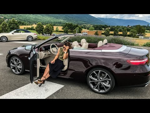 VLOG: юбилейный кабриолет Mercedes-Benz E-Class 25th Anniversary E400 Cabriolet