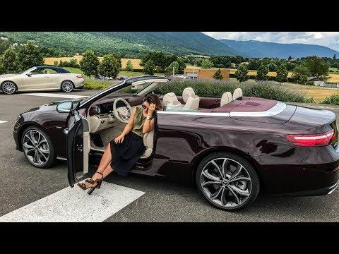 VLOG юбилейный кабриолет Mercedes Benz E Class 25th Anniversary E400 Cabriolet