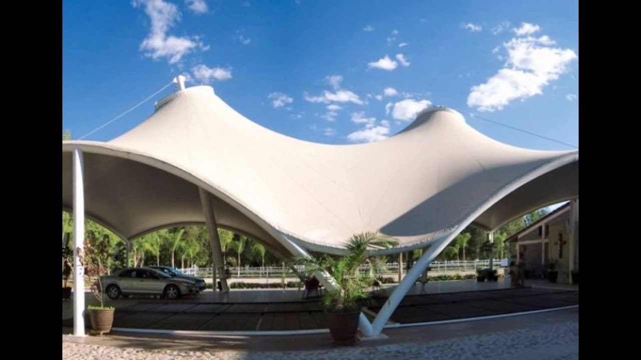 Roof Tensile Membrane Architecture Youtube