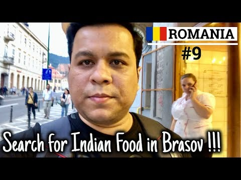 EP-9 Romania 🇷🇴  Indian Tourist searching for Indian food in Brasov   Council Square