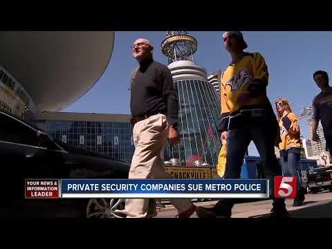 Private Security Companies Sue Nashville Police