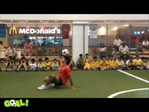 Free style football at Discovery - Kuwait