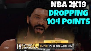 NBA 2K19 BREAKING WILT CHAMBERLINS 100 POINT RECORD