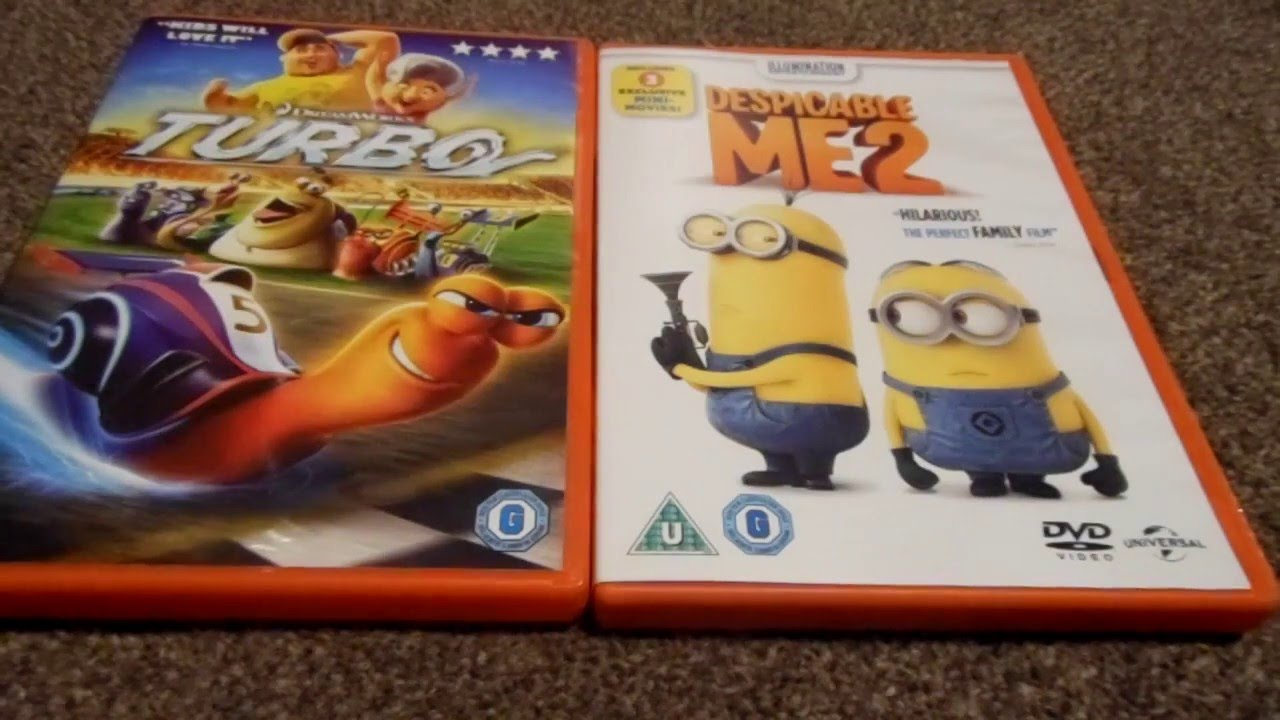 despicable me 2 blu ray 3d unboxing