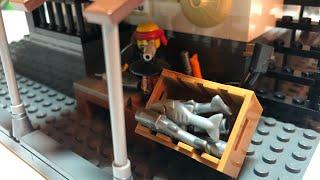 очень крутая самоделка из лего. Суши ресторан / лего / lego