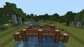 MINECRAFT Tutorial   Wooden Bridge