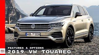 2019 VW Touareg Features & Options - Volkswagen