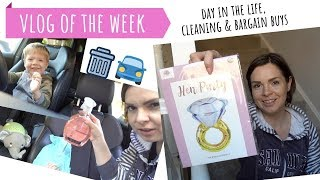 VLOG OF THE WEEK // DAY IN THE LIFE // MUM JOBS, CLEANING CAR // ALDI SPECIAL BUYS BARGAINS