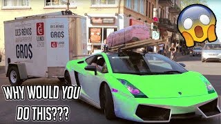 Unusual SuperCars With A Towbar