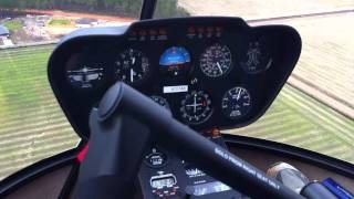 Robinson R-44 Flight From The Ranch