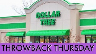 DOLLAR TREE HAUL | Throw Back Thursday #3
