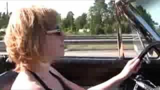 Readhead driving 1964 Ford  Galaxie 500 XL convertible
