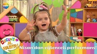 Çakıl Bebek Nisan Dan Eğlenceli Performans