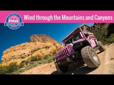 Phoenix Area Off-Road Jeep Tours - Sidewinder Ridge, AZ | Pink Jeep