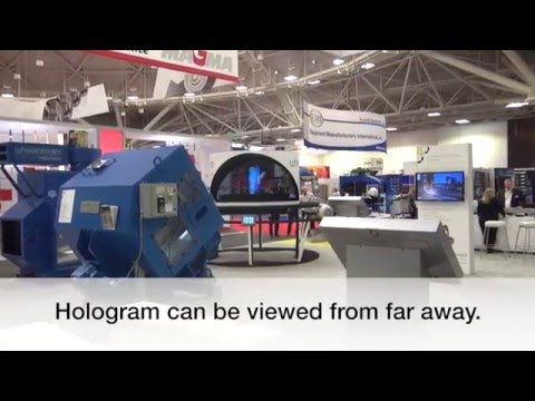 3D Hologram Rental and Sales for Trade Shows