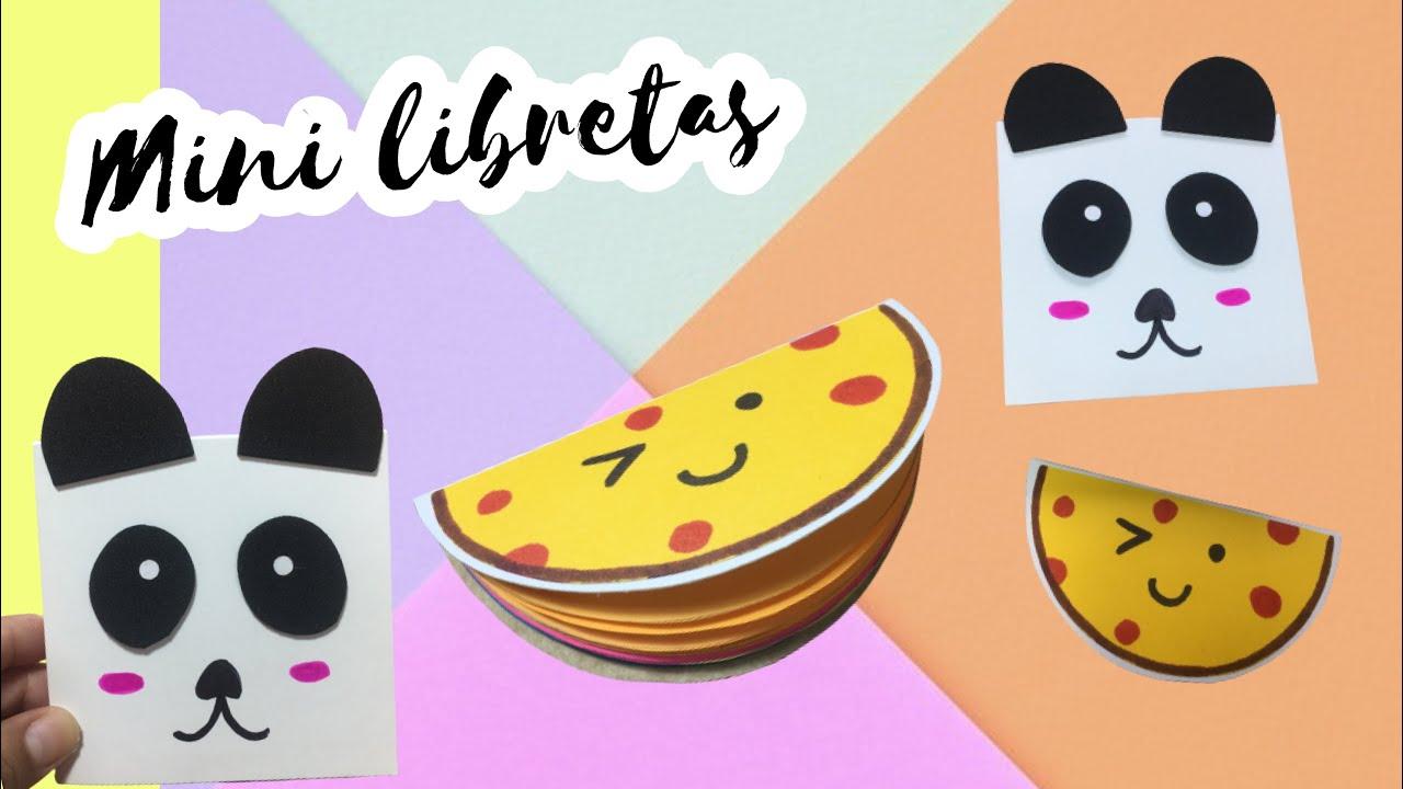 10 mini libretas para tus apuntes | DIY | Regala Siempre Amor