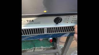 OPAL FP904 900와트 중고파워앰프 음향테스트.…