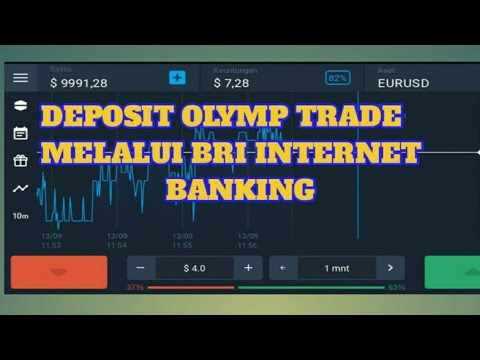 Deposit Olymp Trade Dengan Bank Bri