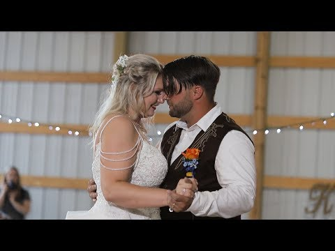 Kate & Blaine Wedding Highlight | Zanesville, OH