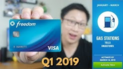 How to Maximize the Chase Freedom 5% Categories Q1 2019