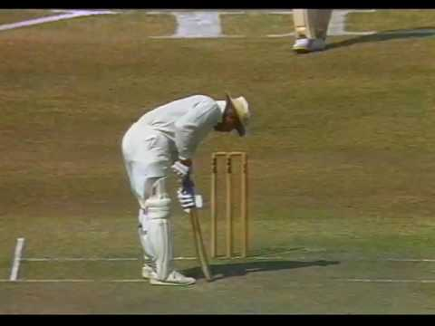 CRICKET HIGHLIGHTS PAKISTAN VS. WEST INDIES ONE DAY INT'L-KARACHI 20th No.1991.
