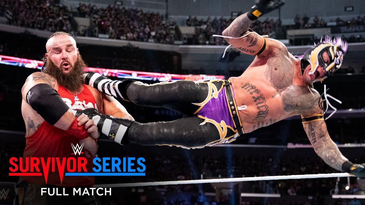 Download FULL MATCH - Team Raw vs. Team SmackDown - Men's 5-on-5 Elimination Match: Survivor Series 2018