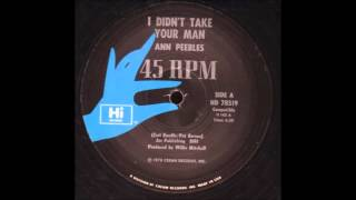 Ann Peebles - I Didn