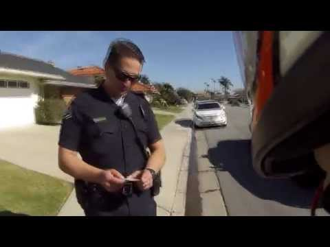 Pulled Over by a Cool Police officer on Super Pocket Bike (x18), Dropped the bike + 6:50 for cop