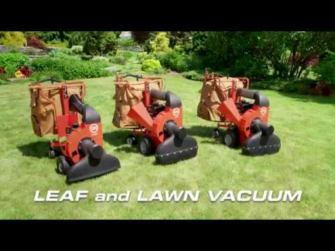 DR Walk-Behind Leaf And Lawn Vacuum