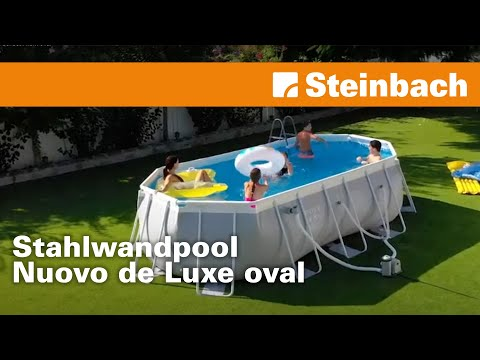 aufbauanleitung oval fast set pool bestway doovi. Black Bedroom Furniture Sets. Home Design Ideas