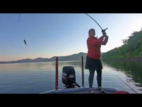 Cave Run Lake Bass Fishing Tournament, Kentucky - My First