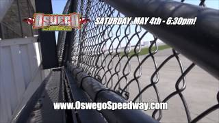 Ray Graham at Speed: Oswego Speedway Opener May 4th!