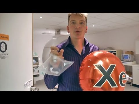 Dr Peter Wothers - Using Xenon to Image Living Lungs