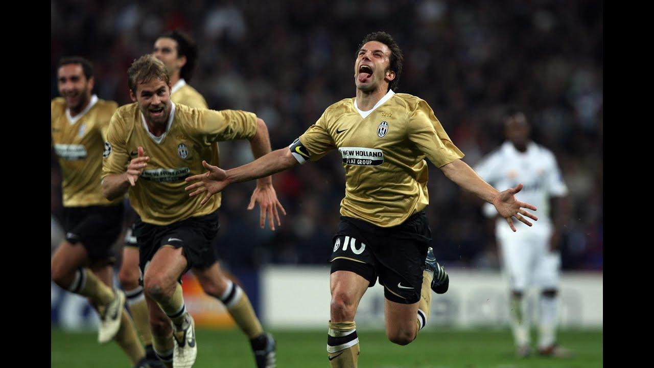 Madrid-Juventus 05/11/2008  Real - - Champions League 0-2