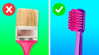 Clever Art Hacks and Painting Tricks You Have To Try